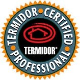 Termidor certified professional badge