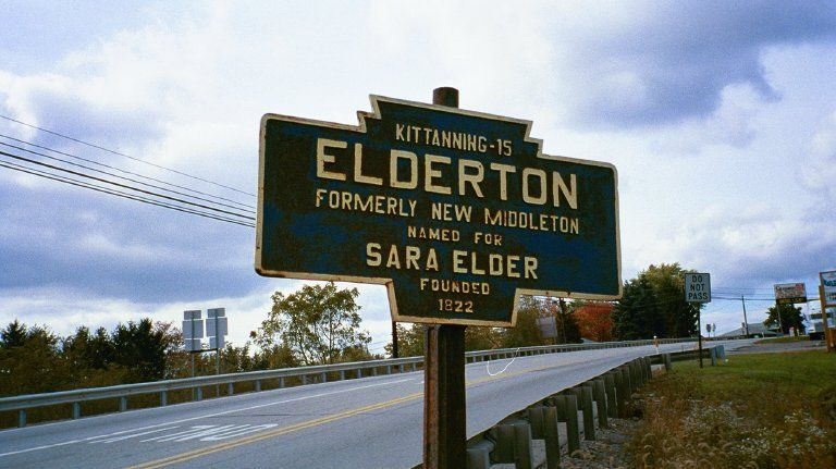 Elderton and Shelocta, PA  15774